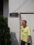 john major plaque